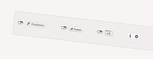 WordPress: 2-Click Social Media Buttons für Datenschutz