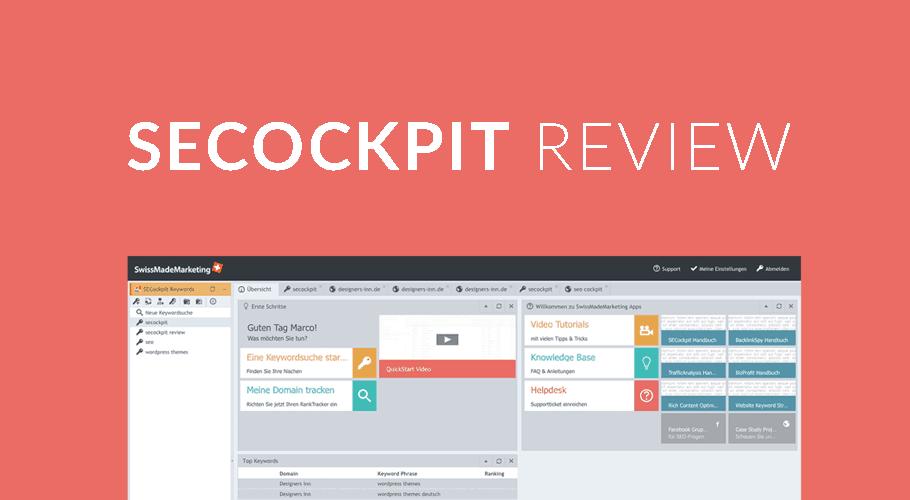 SECockpit Review – Das SEOcockpit-Keyword-Tool