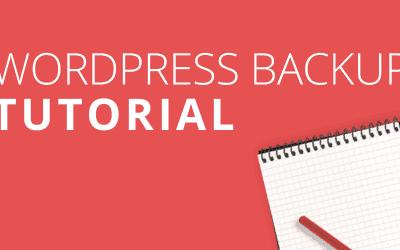 WordPress Backup erstellen: die vollständige Anleitung.