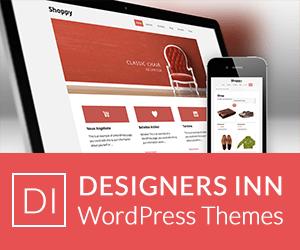 Designers Inn WordPress Themes Galerie