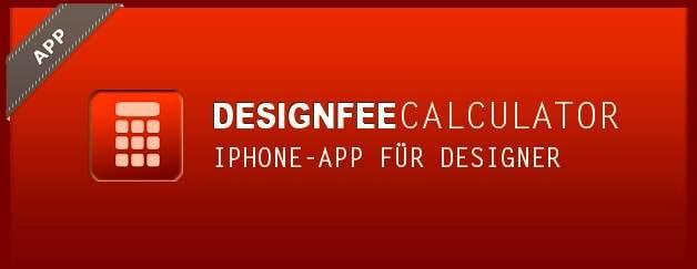 """Design kalkulieren mit dem iPhone: Der """"DesignfeeCalculator"""""""