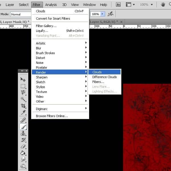 """""""Grunge""""-Textur erstellen"""