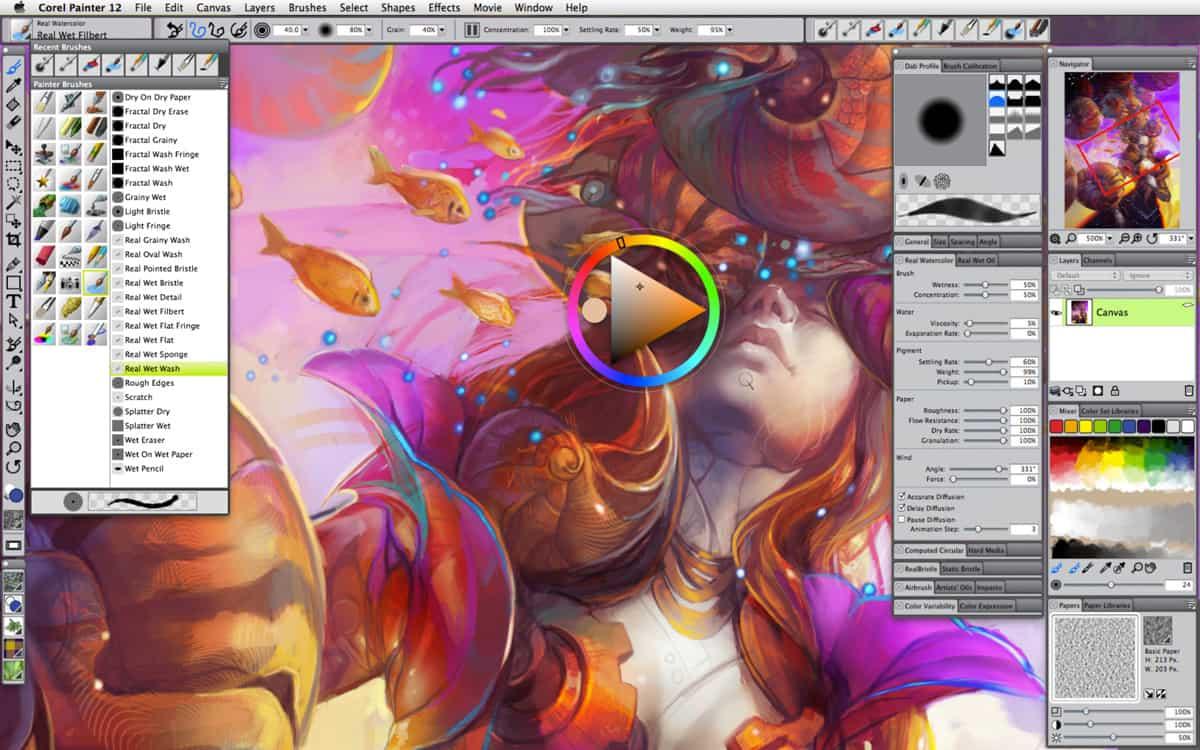 Corel Painter 12 Review