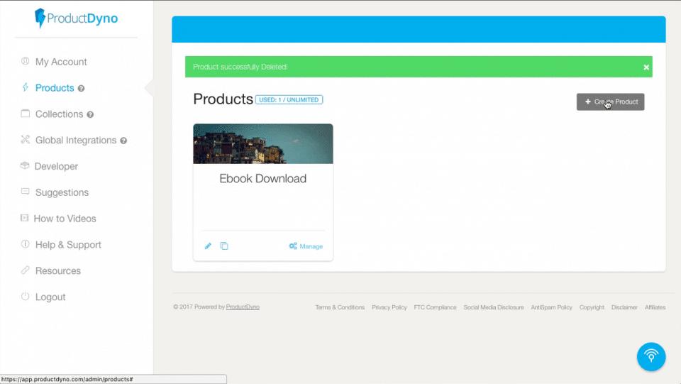 Productdyno produkt