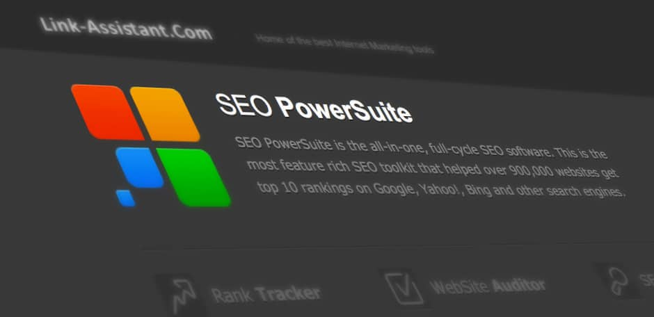 SEO Software: Link Assistant SEO PowerSuite vorgestellt.