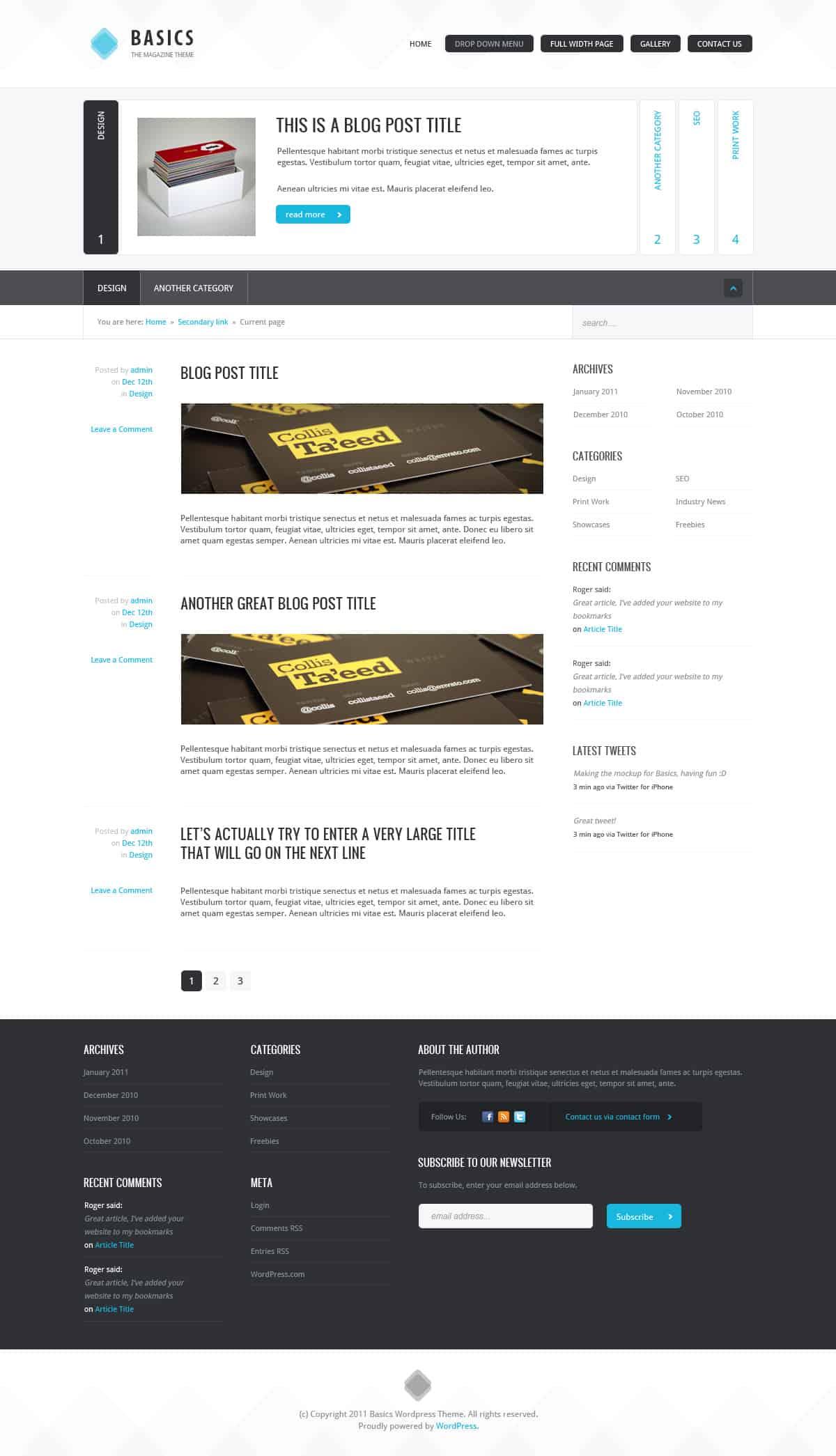 Magazin-Theme erstellen und PSD zu HTML konvertieren