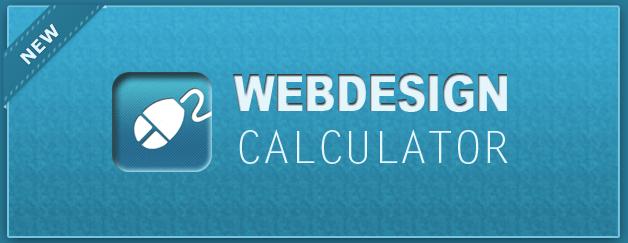Web Kosten kalkulieren. WEB FEE.