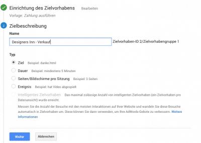 Webseitenoptimierung - Verkaufskanal analysieren 04