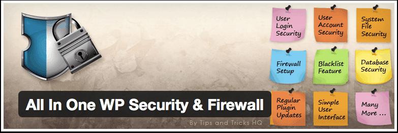 All-In-One-WP-Security: Beste WordPress Plugins