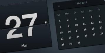 Free Flip-Kalender (PSD)