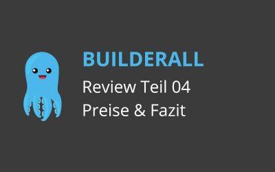 Builderall Review (04): Preise, Fazit & meine Builderall Erfahrungen
