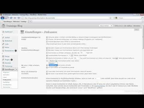 WordPress Kommentare deaktivieren bzw. aktivieren