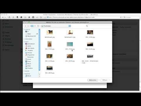WordPress: Einfügen eines Artikelbildes (Vorschaubild)