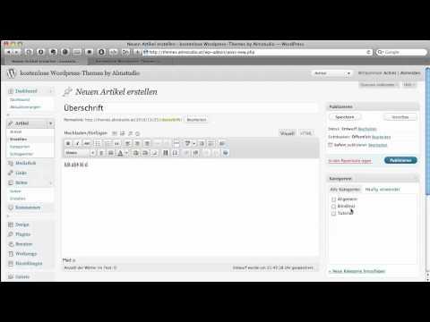 WordPress Artikel planen