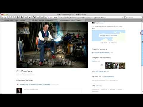 Youtube-Videos und Flickr-Foto einbinden