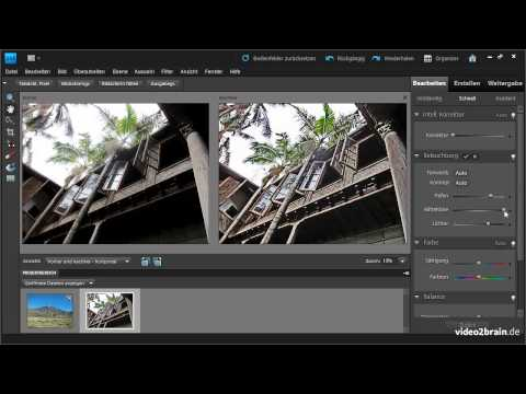 Photoshop Elements Tutorial: Schnellkorrektur