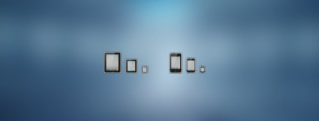 Free Icons: iPad und iPhone