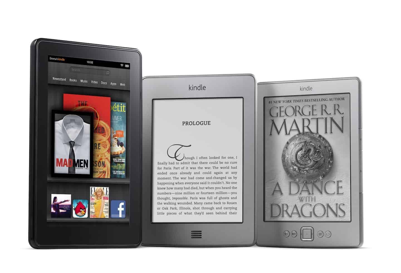 Kindle HD, Kindle Paperwhite, Kindle