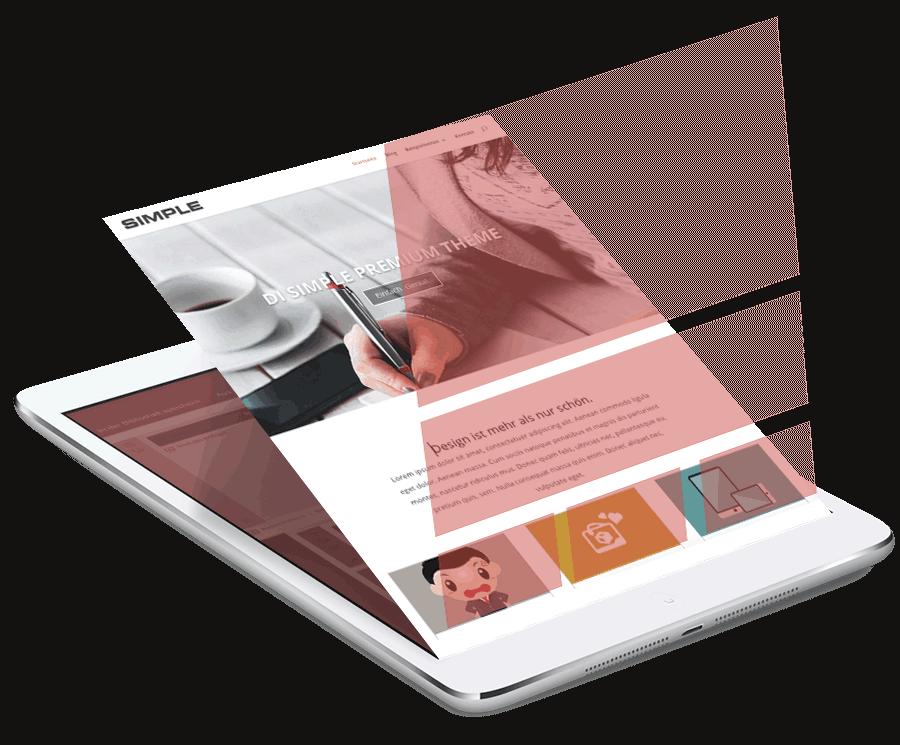 WordPress Themes visual builder