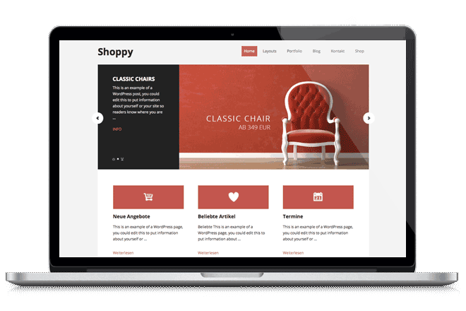 Wordpress Shop Theme WooCommerce