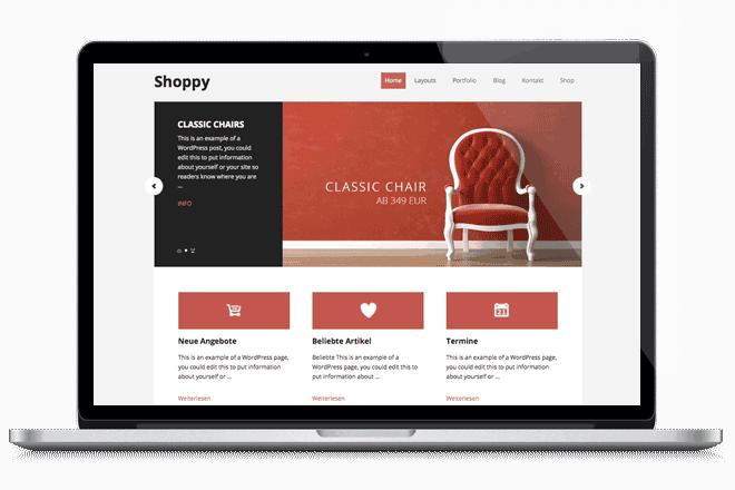 Wordpress Shop Theme WooCommerce
