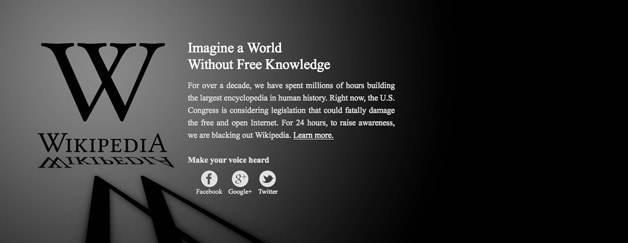 SOPA – Ein schwarzer Tag für das Internet?