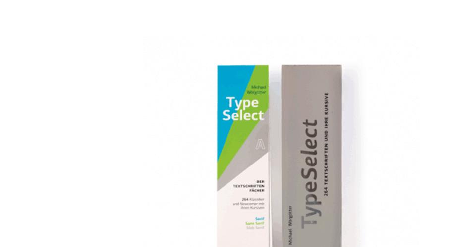 TypeSelect – Der Farbfächer für Schriften