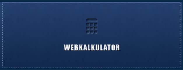 Homepage Kosten – Webkalkulator (Bösiger)