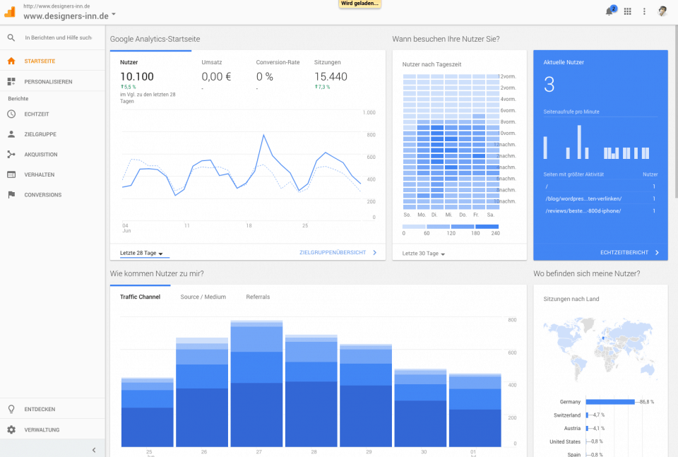 webseitenoptimierung-google analytics