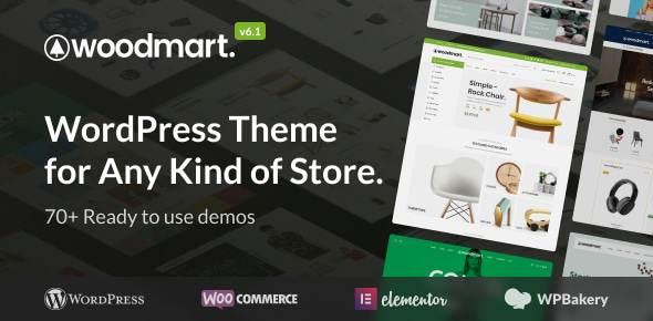 Review WooCommerce Themes Deutsch: Woodmart