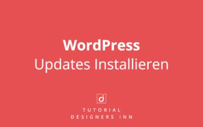 WordPress Updates installieren